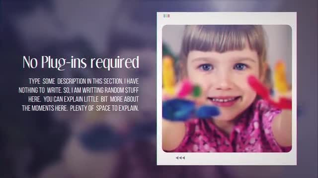 Life Through Frame: After Effects Templates