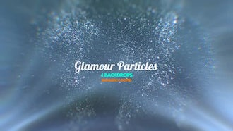 Glamour Particles Pack: Motion Graphics