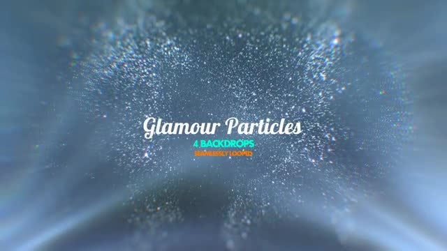 Glamour Particles Pack: Stock Motion Graphics