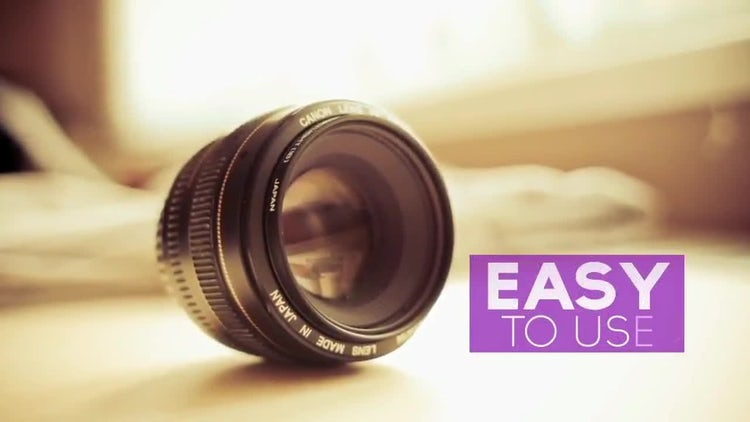 Striped Slideshow: After Effects Templates