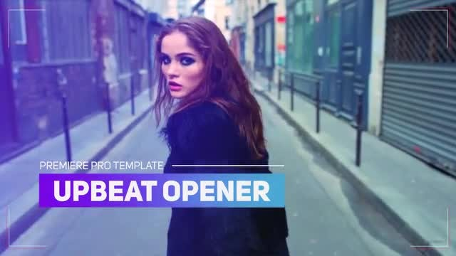 Upbeat Opener: Premiere Pro Templates