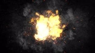Cinematic Fire Logo: Premiere Pro Templates