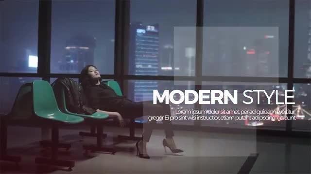 Modern Upbeat Slideshow: Premiere Pro Templates