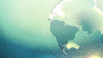 Textured Globe Background: Motion Graphics