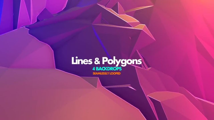 Lines & Polygon Pack V.1: Motion Graphics