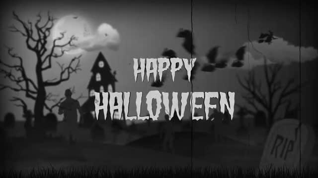 Happy Halloween: After Effects Templates