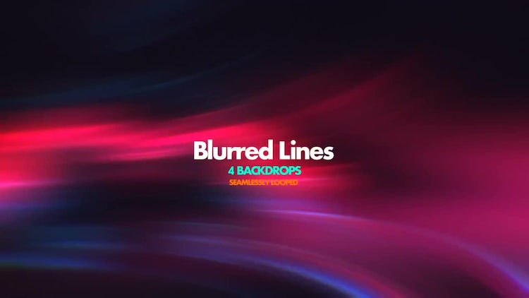 Blurred Lines: Stock Motion Graphics
