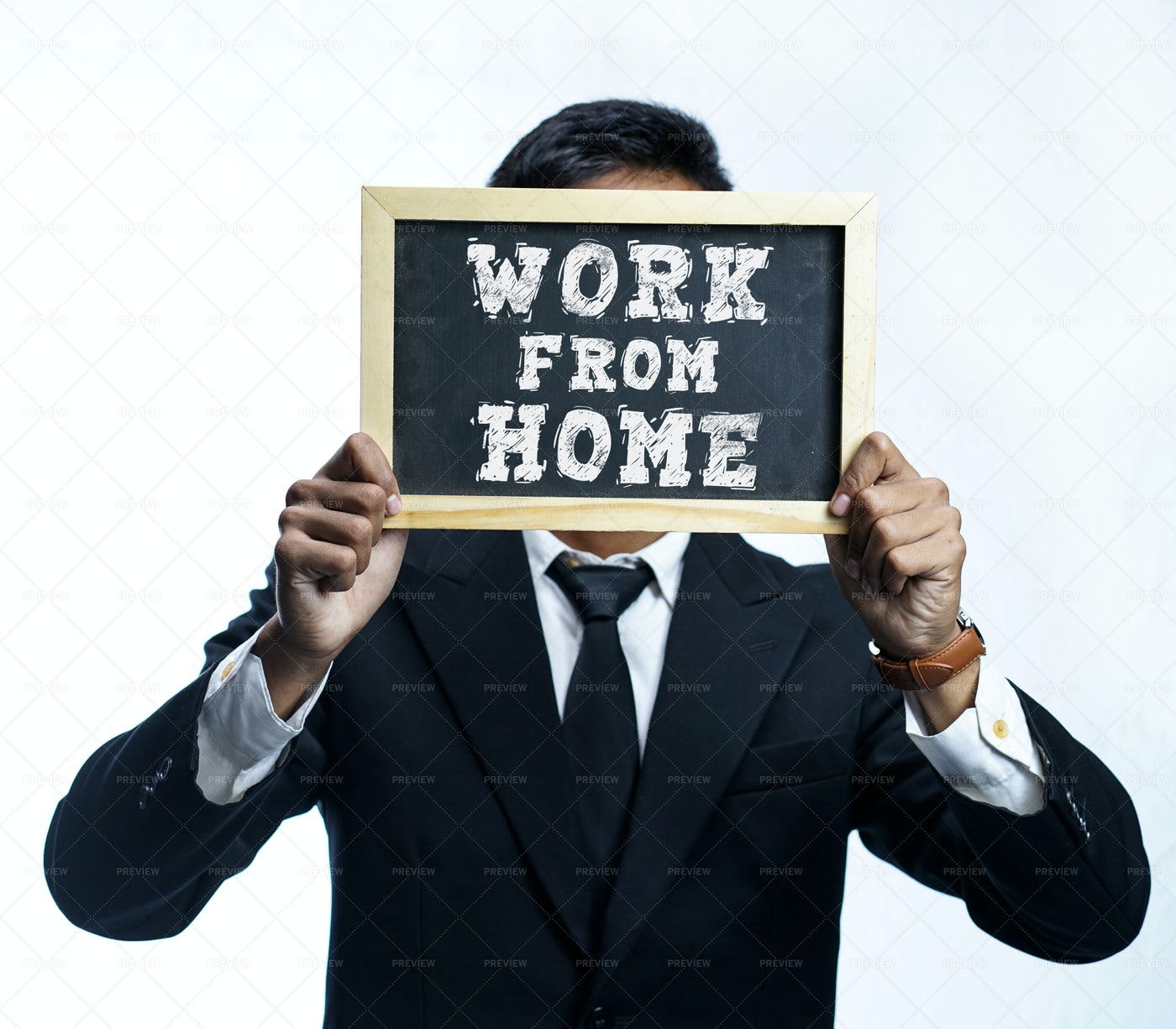 Work From Home Campaign: Stock Photos