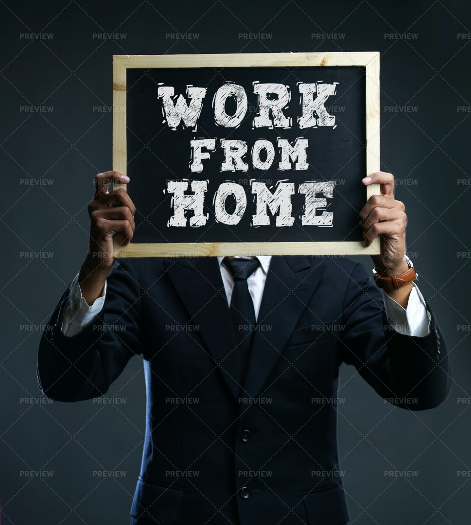 Work From Home Panel: Stock Photos