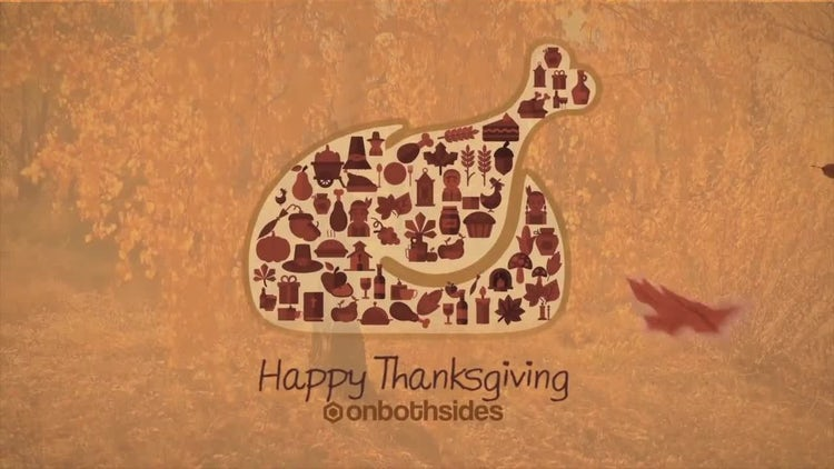 Thanksgiving Collage: After Effects Templates