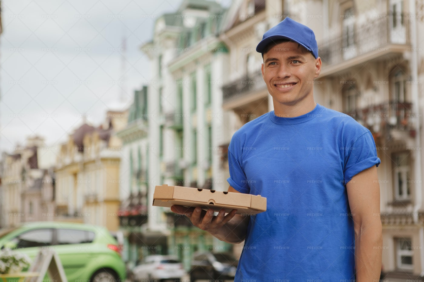 Pizza Delivery: Stock Photos