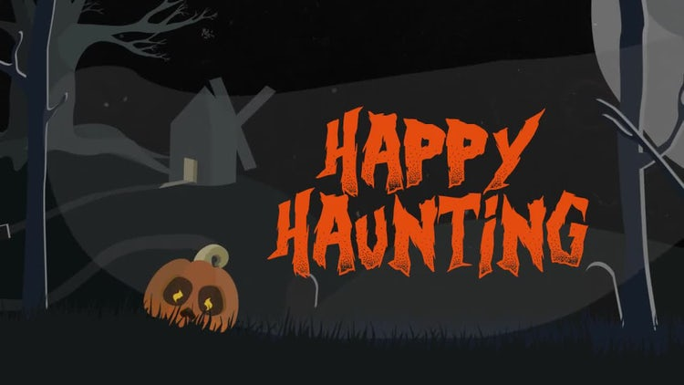 Halloween Invitation: After Effects Templates