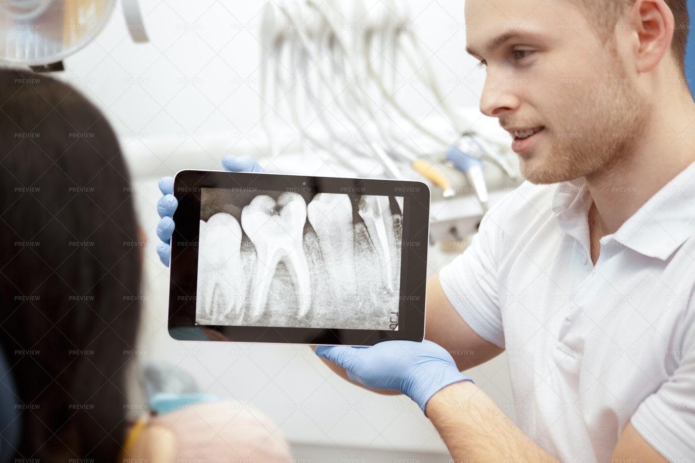 Showing Dental X-Ray: Stock Photos