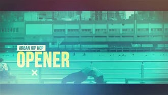 Urban Hip Hop Opener: After Effects Templates
