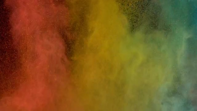 Colored Powder: Stock Video