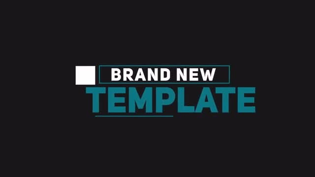 Trendy Minimal Titles: After Effects Templates