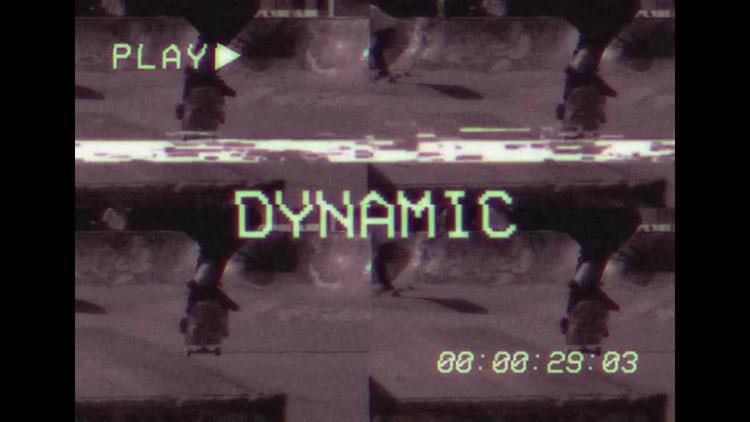 VHS Style Slideshow Opener: Premiere Pro Templates