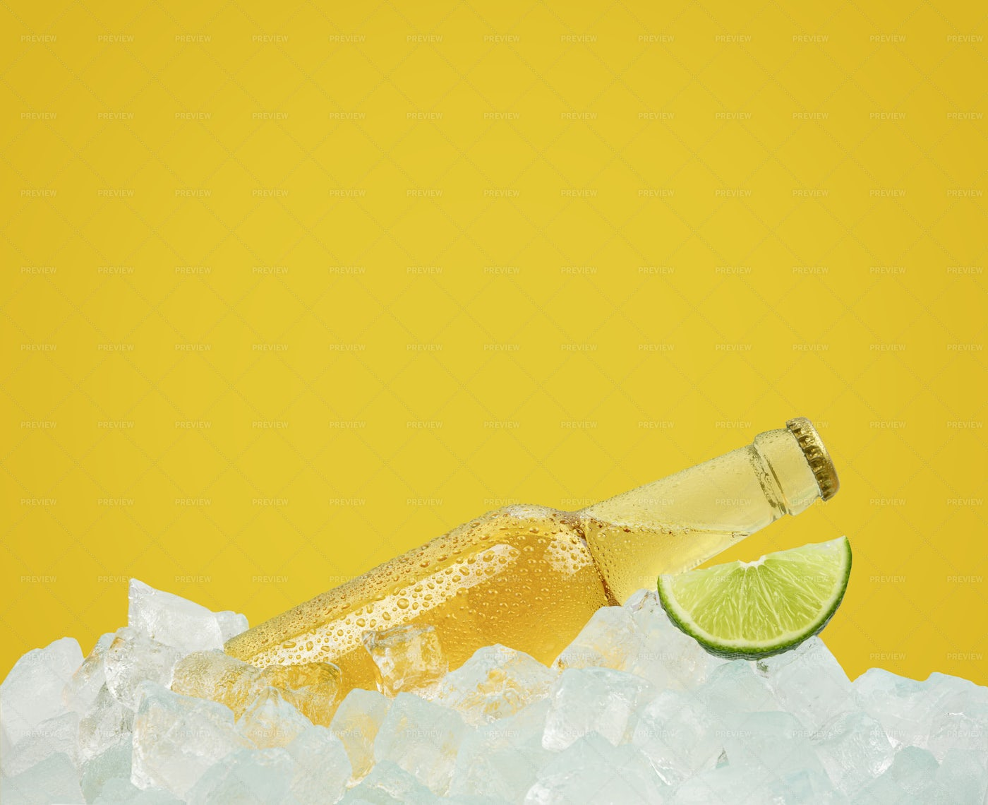 Beer And Lemon: Stock Photos