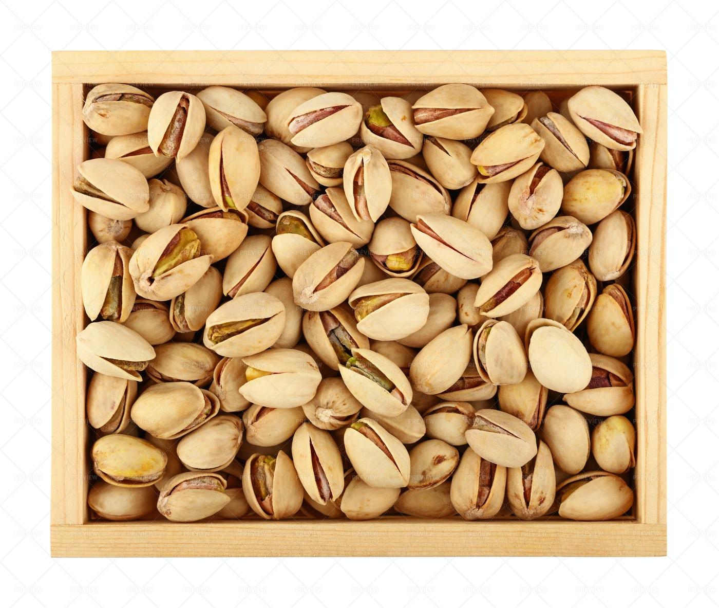 Roasted Pistachio Nuts: Stock Photos