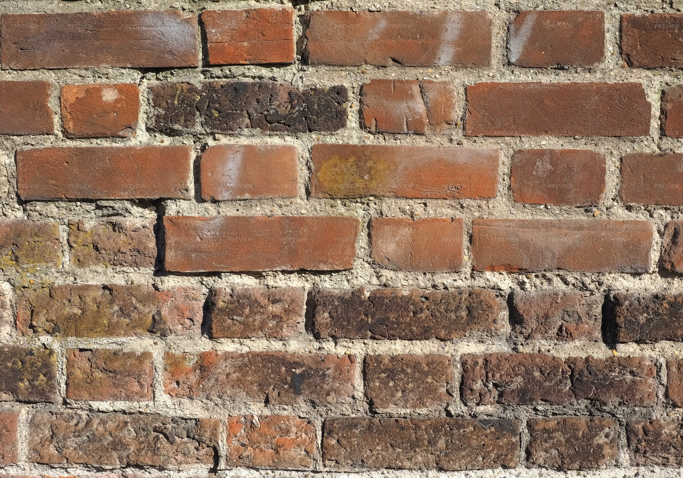 Traditional Red Brick Wall: Stock Photos