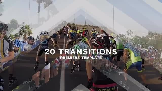 20 Transitions: Premiere Pro Templates