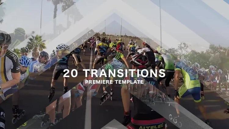 20 Transitions: Premiere Pro Templates
