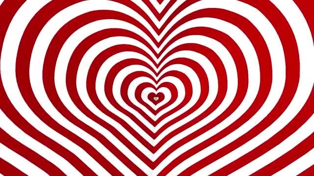Heart Loop Background: Stock Motion Graphics
