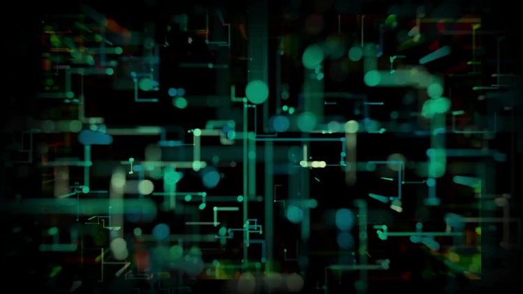 Nice Tech Background: Motion Graphics