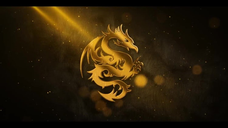 Gold Metal Particle Logo: After Effects Templates
