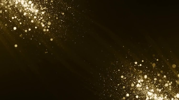 Particles Gold Background: Motion Graphics