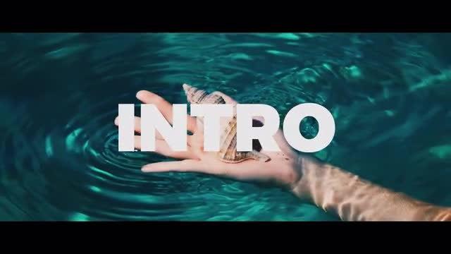 Opener Stomp Typography Promo: Premiere Pro Templates
