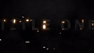 Tech Light Titles: After Effects Templates