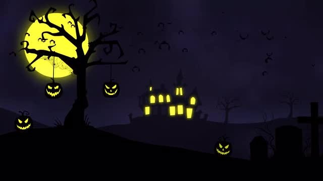 Halloween Background: Stock Motion Graphics
