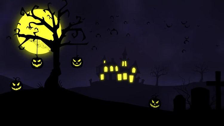Halloween Background: Motion Graphics