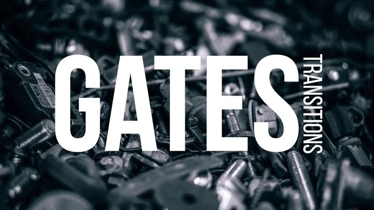 Gates Transitions: Premiere Pro Templates