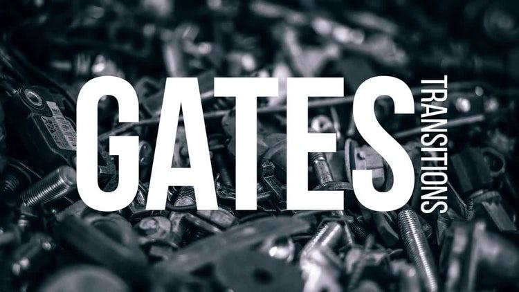 Gates Transitions: Premiere Pro Templates