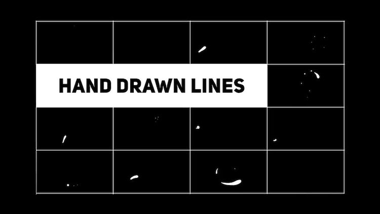 Hand Drawn Shape Lines: Motion Graphics