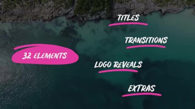 Scribbles  Hand Drawn Pack - After Effects Templates