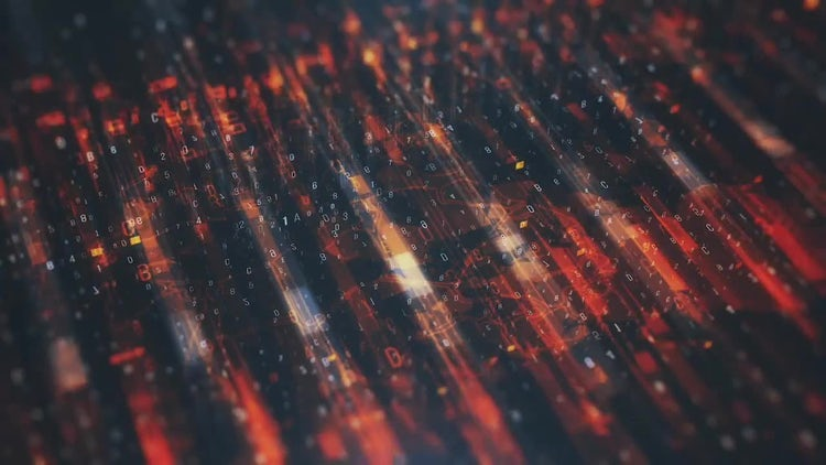 Technological Looped Backgrounds: Stock Motion Graphics