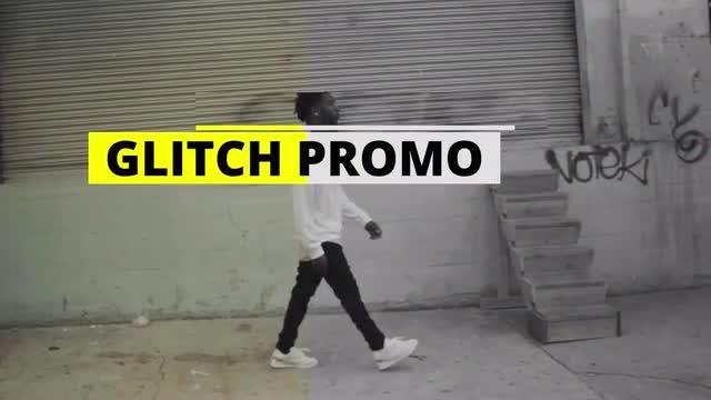 Glitch Promo: Premiere Pro Templates