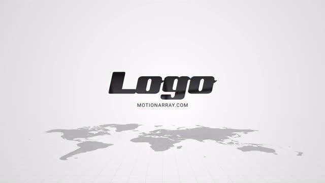 Maps Clean Logo: After Effects Templates