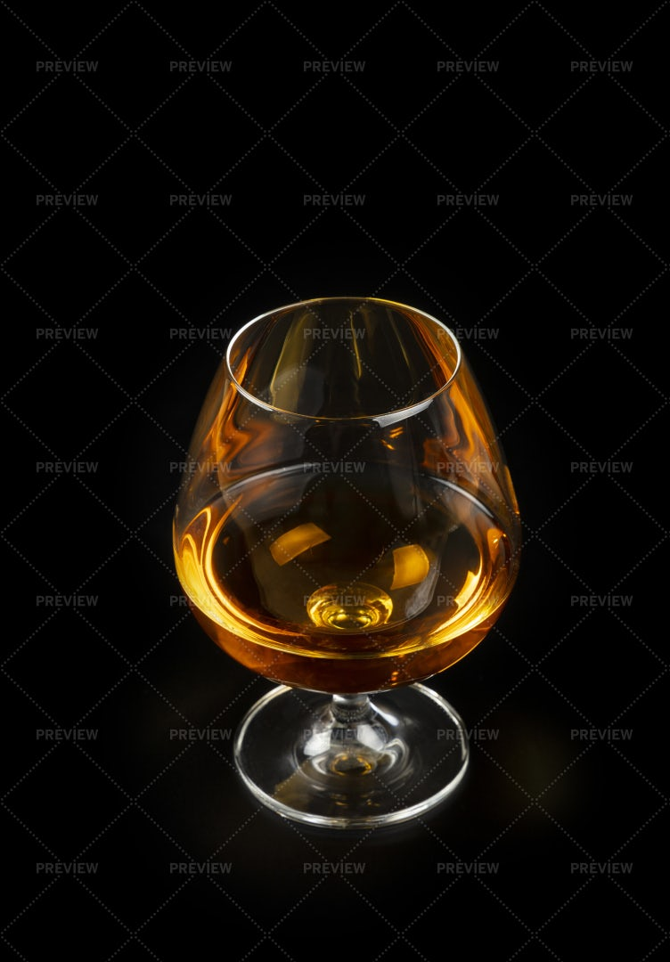 Glass Of Cognac: Stock Photos