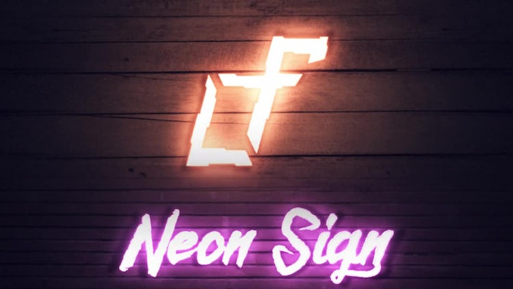 Neon Sign Intro: After Effects Templates