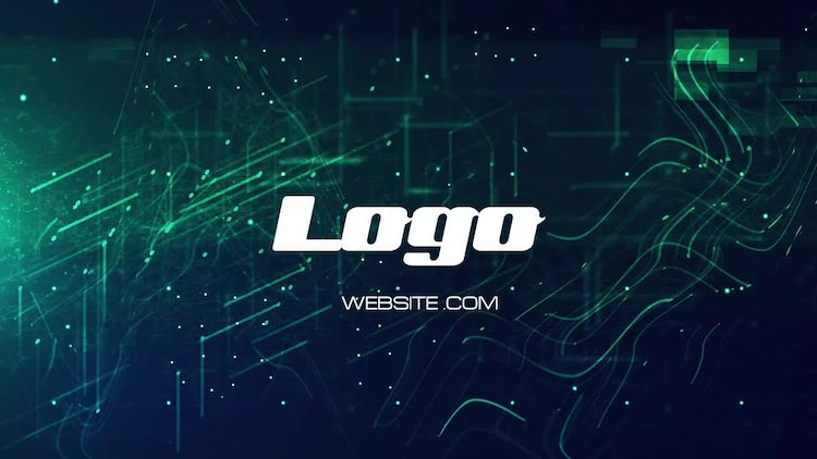 Screen Glitch Logo: After Effects Templates