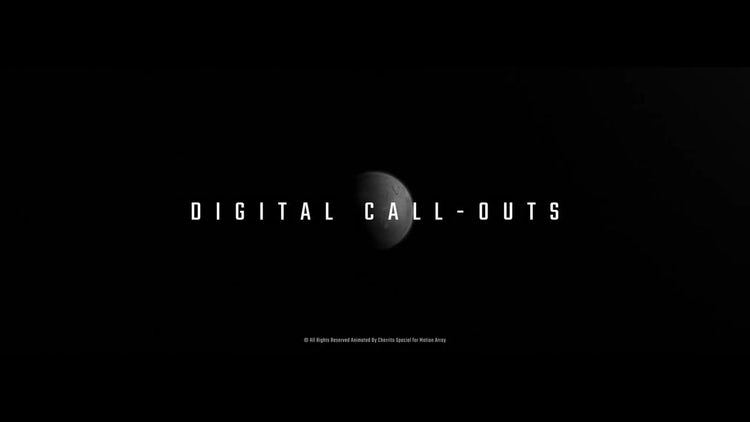 Digital Call-Outs: Premiere Pro Templates