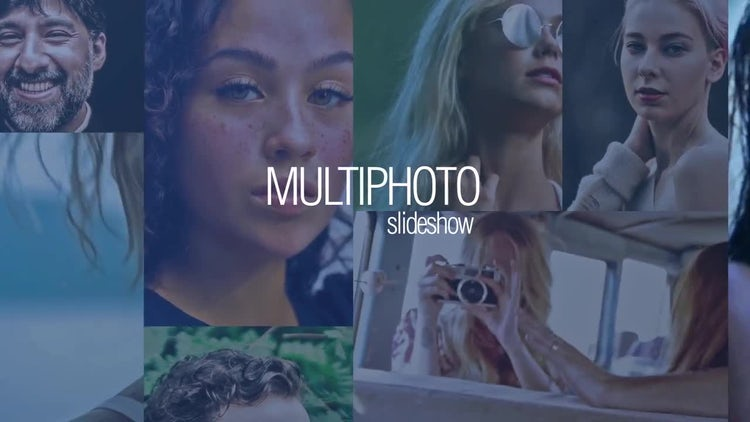 Multi-photo Opener: After Effects Templates