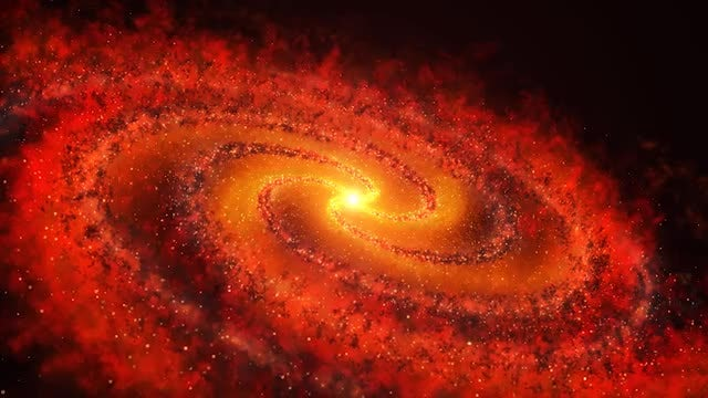 Red Galaxy: Stock Motion Graphics