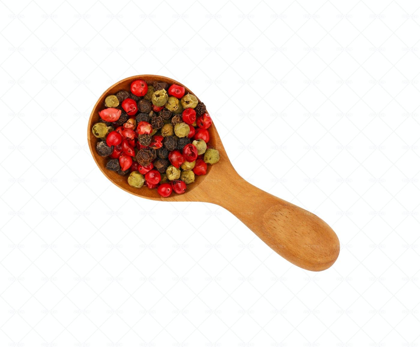 Mixed Peppercorn: Stock Photos