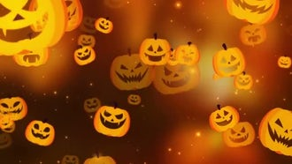 Halloween Pumpkin: Motion Graphics