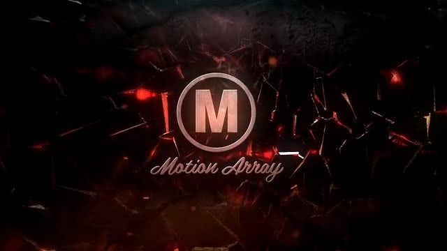 Shatter Logo Intro: After Effects Templates